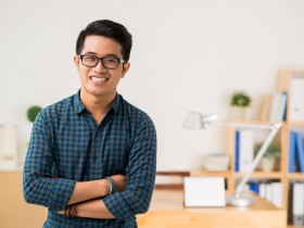Vietnamese young man
